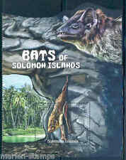 SOLOMON ISLANDS FAUNA MAMMALS BATS SOUVENIR SHEET