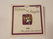 Lot of 3   Buffalo Jewelry Believe In Angels Pins  August, Peridot