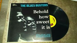 blues busters behold how sweet it is lp reggae gospel dynamic label 002 VG rare