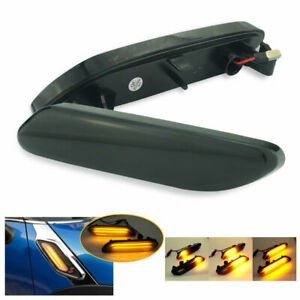 For Mini Cooper R60 R61 Countryman Paceman Dynamic LED Side Fender Marker Light