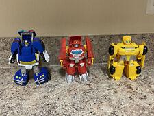 Transformers Rescue Bots Hasbro Playskool Heroes - Lot Of 3