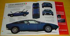 1970 1971 72 73 1974 Lamborghini Urraco P250 V8 2463cc IMP Info/Specs/photo 15x9