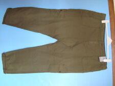 Cotton Cargos Plus Size 28L Trousers for Women