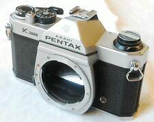 Pentax k1000 K 1000 SLR Camera S/N 6110245