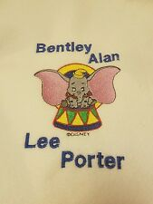 Personalized Embroidery Baby Blanket Dumbo