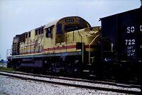 Lot of 4 Slides Squaw Creek Railroad 9843 Alco RSD-15 Indiana 1978