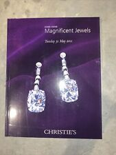 Christies Hong Kong Magnifiscent Jewels 2011