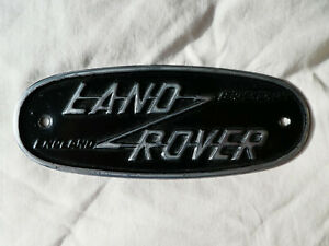Land Rover Series 1 one 2 two Original Birmingham Badge Vintage Barn Find 80""