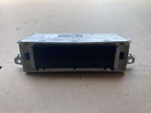 Peugeot 307 Radio Multi Function Clock Display Screen 9652809977 2001-2005