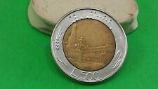 L500 1985 REPVBBLICA ITALIANA COIN