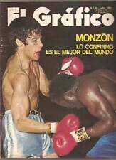 CARLOS MONZON Vs Griffith 1971 Magazine Boxing Argentina
