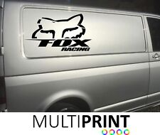 2X LARGE FOX RACING Motocross MOTO X Vehicle Van Decals Stickers Graphics VAN2