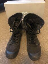 PALLADIUM BAGGY BOOTS BLACK UK 12 US 13 EU 47 + box, X-Line RIF Orthotic Insoles