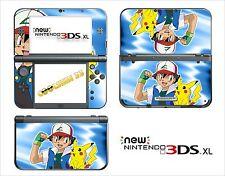 SKIN DECAL STICKER - NINTENDO NEW 3DS XL - REF 102 POKEMON