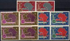 Rwanda 1967 SG#230-2, 5th Anniv U.A.M.P.T. MNH Blocks Set #D58755