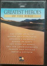Greatest Heroes of the Bible: Collection (DVD, 2000, 2-Disc Set) 8 Bible Stories