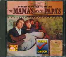 """THE MAMAS & THE PAPAS """"If You Can Believe Your Eyes And Ears"""" CD-Album"""