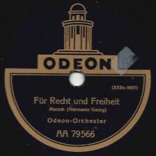 """78er Marschmusik Weimar Odeon-Orchester """"Reichsbanner-Marsch (Schwarz-Rot-Gold)"""""""