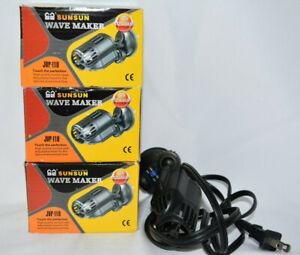 4 pack SunSun JVP-110  Wavemaker Pumps 3 new 1 used  jc1
