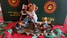 Boyds Bears & Friends Ross with Betsy.Everybody Loves a Parade #227809