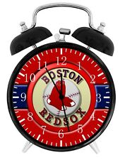 Boston Red Sox Alarm Desk Clock Nice For Decor or Gifts F153