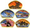 2016 Central Florida Council Popcorn Military CSP Patch Badge Set BSA Lot FOS