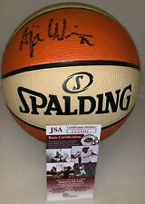 A'ja Wilson Las Vegas Aces signed Full Size WNBA Basketball Ball JSA