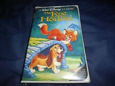 The Fox and the Hound (VHS, 1994, DISNEY BLACK DIAMOND CLASSICS)  CLAM SHELL
