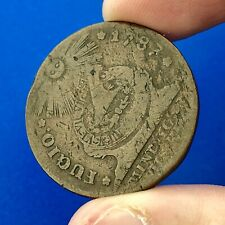 1787 Fugio Copper Cent First United States Authorized Coin States United Cinq