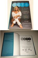KYM JOHNSON SIGNED BOOK THE 5678 DIET DANCING WITH THE STARS W/COA FROM SIGNING