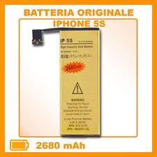 BATTERIA GOLD MAGGIORATA per iPhone 5S 2680 mAh - NO DOGANA - ZERO CICLI