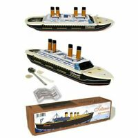 Titanic Steam Boat Tin Toy - Pop Pop Boat Tin Plate Toy