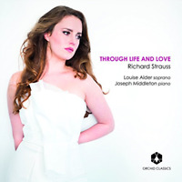CLASSICAL V.A.-THROUGH LIFE AND LOVE R.STRAUSS: SONGS-JAPAN CD F04