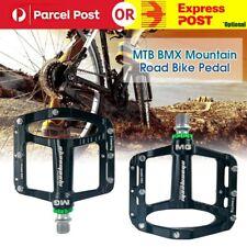 MTB BMX Mountain & Road Bike Pedal Magnesium Alloy 3 Bearing Flat Platform CS537