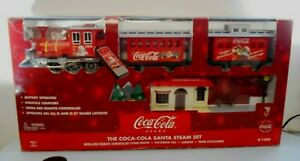 K-Line K-1309 The Coca-cola Santa Steam set Remote Control Battery Power