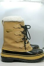 Hi Tec Men's Snow Boots  Size 7M Duck Boot  Wool Blend Removable Liner