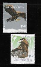 Liechtenstein 2019  BIRDS of prey issue of 2 MINT NH