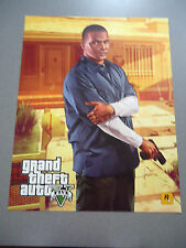"Grand Theft Auto V Two Sided  Poster ""C""      NEW  GTA V   GTA 5"