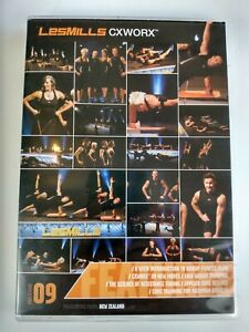 Les Mills CXWORX 9 Complete Release DVD - Choreography Notes Included