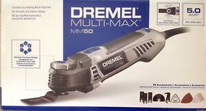 NEW Dremel MULTI-MAX MM50 5.0 Amp Corded Oscillating Multi-Tool Kit