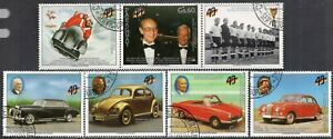602a - Paraguay 1989 - Cars - The 40th Ann. of the Germany - Used Set + Label