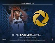 Zion Williamson - 2019-20 Panini Opulence Basketball Full Case Player Break