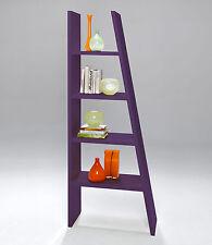 Schrägregal Regal Aufbewahrung Ablage Bücherregal Mehrzweckregal Purple Matt