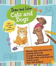 Draw and Color: Cats and Dogs (Draw and Color Sketchbook),