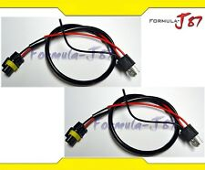 Wire HID Ballast Kit Xenon HS1 Two Harness Head Light Low Beam Bulb Power Cable