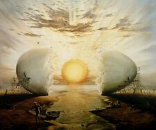 """Kush, Vladimir   """" Sunrise by the Ocean """"    Giclee   MAKE OFFER  DSSBA"""