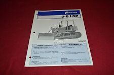 Fiat Allis Chalmers 8-B LGP Crawler Tractor Dealer's Brochure DCPA2