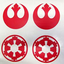 Star Wars Galactic Empire - Rebel Alliance - Vinyl Decal Red Wall Car Sticker