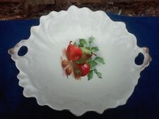 Large Open Handle Serving Bowl with Fruit and Nut Transfer
