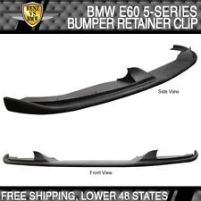 Fits 04-10 BMW E60 H-Style Front Bumper Lip For Aftermarket M5 Style Bumpers
